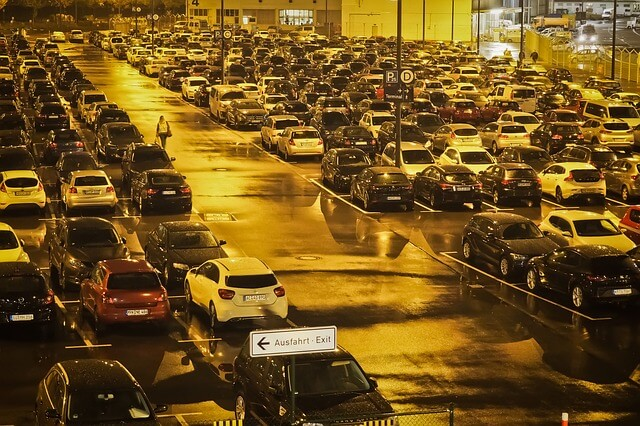 Easypark parkeren luchthaven